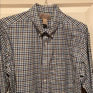 Duluth Trading Co. Men's button-down casual shirt